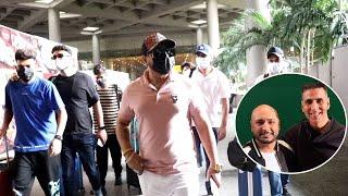 Mumbai Airport Par Swag Me Dikhe Singer B Praak, Spotted Video