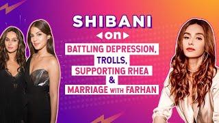 Shibani Dandekar on battling depression, stereotypes; Rhea Chakraborty & marriage with Farhan Akhtar