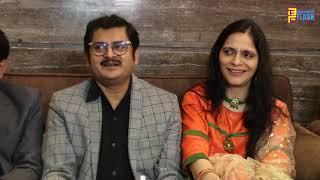 Bhabhi ji fame Rohitash Gaud launch JB Sanitiser with Paras Mehta & Sanjay Singh at Sun n Sand
