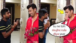 Fan Sings Kal Ho Naa Ho Song For Sonu Nigam on His Birthday | Sonu Nigam Emotional moment