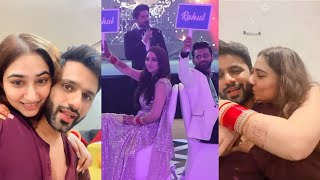 Rahul Vaidya & Disha parmar Who knows Better Challenge Video | First Insta live after wedding