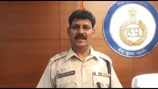 रोहतक में हुए संदिग्ध विस्फोट के मध्येनजर झज्जर जिला में सुरक्षा व्यवस्था को किया गया चाक चौबंद