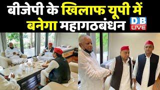 BJP के खिलाफ UP में बनेगा महागठबंधन | Lalu Prasad Yadav, Mulayam Singh , akhilesh yadav | DBLIVE