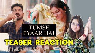 Tumse Pyaar Hai Teaser | Reaction | Rubina Dilaik, Abhinav Shukla | Vishal Mishra |