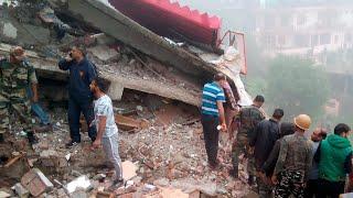 #परवाणू : पैराडाइज होटल के छत पर डंगा गिरने से एक की मौत, 2 घायल | TV24 INDIA
