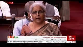 Smt. Nirmala Sitharaman introduces The Insolvency and Bankruptcy Code (Amendment) Bill, 2021