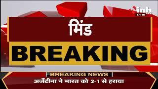 Madhya Pradesh News || Bhind, बेसली नदी का पुल डूबा