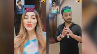Rahul Vaidya & Nikki Tamboli on MOJ | Tambora On MOJ | Moj and Moj Video