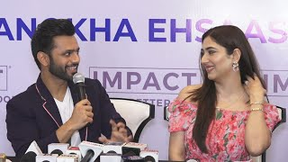 Rahul Vaidya & Disha Parmar Grace The Launch Of Responsive Floors AD Film