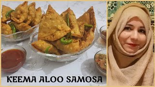 How to make mutton samosa | मटन कीमा समोसा बनाने का आसन तरीका | Mutton Keema Samosa Recipe in Hindi
