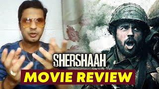 Shershaah Movie REVIEW | Sidharth Malhotra, Kiara Advani | By RJ Divya Solgama