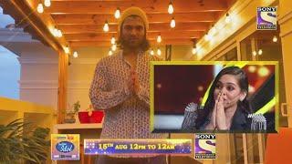 Indian Idol 12 Grand Finale | South Megastar Vijay Deverakonda Ne Kiya Shanmukh Priya Ko Video Call