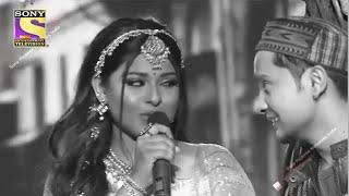Indian Idol 12 Grand Finale | Pawandeep Arunita Ka Black And White Performance