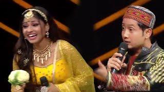 Indian Idol 12 Grand Finale | Pawandeep Ne Arunita Ko Diya Gobi Ka Phool