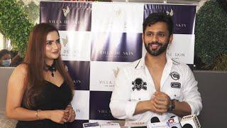 Rahul Vaidya At Opening Of Villa De Skin The Asthetic Clinic
