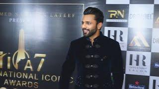 Rahul Vaidya At International Iconic Awards Season 7