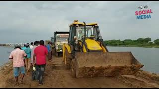 Ndrf Rescue Operations | Sand Lorries Shifted Them To Safety In Boats | social media live