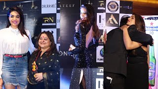 Many Tv Celebs At The Red Carpet International Iconic Awards Season 7