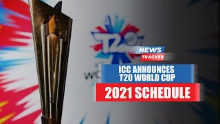 ICC Announces Schedule For The Upcoming T20 World Cup in UAE & Oman And More Cricket News