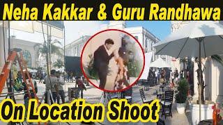 Neha Kakkar & Guru Randhawa   On Location Shoot   Omaxe World Street l New Song l Dainik Savera