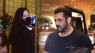 Salman Khan Aur Katrina Kaif TIGER 3 Ke Shooting Ke Liye Hue Ravana