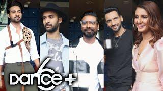 Dance+ Season 6 Set   Remo D'Souza, Captains Shakti Mohan, Punit Pathak, Salman Yusuff Khan