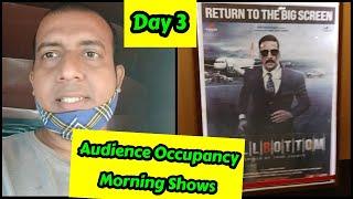 Bell Bottom Audience Occupancy Day 3 Morning Shows, Saturday Ko Film Ne Maari Challang