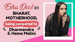 Esha Deol on comeback, motherhood, kids Radhya & Miraya, being compared to Dharmendra & Hema Malini