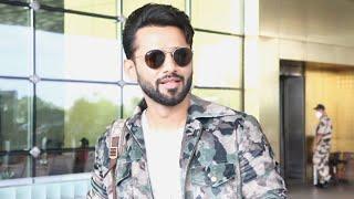 Khatron Ke Khiladi 11 Contestant Rahul Vaidya Spotted At Airport