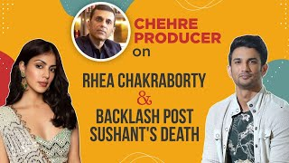 Rhea Chakraborty's role not reduced; backlash post Sushant's death didn't affect us: Chehre producer