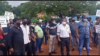 Vasco MLA failed Vascokars! Residents carry morcha to Vasco bus stand, question the failure of MLA