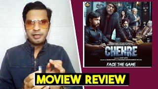 Chehre Movie Review | Amitabh Bachchan, Emraan Hashmi | Divya Solgama