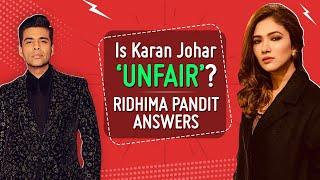 Ridhima Pandit on her fight with Pratik Sahejpal, Divya Agarwal and Varun Sood, Karan Johar | BB OTT