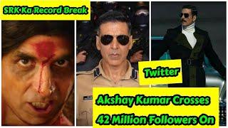 Akshay Kumar Crosses 42 Million Followers On Twitter, Breaks SRK Record, Khabar Jiska Naam Uska #6