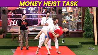 Bigg Boss OTT | Ghar Me Aaya Entertainment Task, MONEY HEIST Task, Shamita Nishant