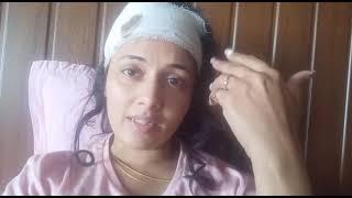 चोट लगने के बाद मणि भट्टाचार्य का लाइव Video | मेरा भारत महान के सेट पर जाने से लग रहा है डर