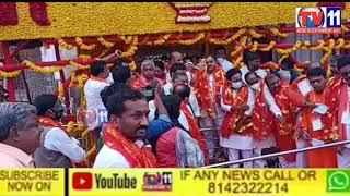 BJP PARTY PRAJA SANGHRAM  RALLY START AT CHARMINAR HYDERABAD BY BANDI SANJAY TS