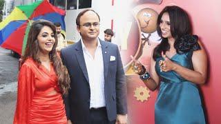Zee Comedy Show Ke Set Par Dikhe Sugandha Mishra, Sanket Bhosle Aur Jamie Lever