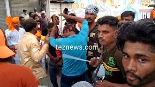 खंडवा : वाल्मीकि समाज द्वारा गोगा नवमीं पर्व उत्साह के साथ मनाया, निकला झिलमिलाती छड़ियों का कारवां