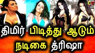 நடிகை திரிஷா ரொம்ப திமிர் பிடிச்சவ பிரபல தயாரிப்பாளர் பளார்|Trisha|Producer|Rajan|KollyWood