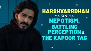 Harshvardhan Kapoor on pressure of being Anil Kapoor's son, battling lows, perception, insecurities