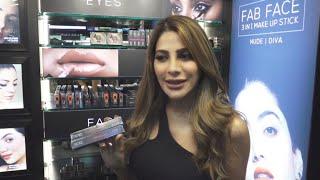 Nikki Tamboli At Launch Of RENEE Cosmetics First Flagship Store