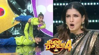 Super Dancer 4 Promo | Anshika -Manan Ka Ankhiyon Se Goli Mare Par Performance, Raveena Ka Jeeta Dil