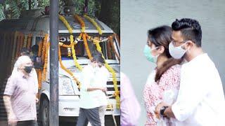 (Inside Video) Sidharth Shukla's Last Rites