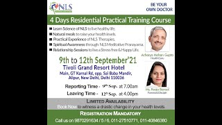 Residential Camp - 9-12th Sep. 21 - Detox your body - Cure all your diseases with Nature Camp