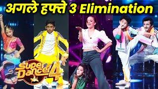 Super Dancer 4 | Agle Hafte Honge 3 Elimination, Kaun Hoga Eliminate?