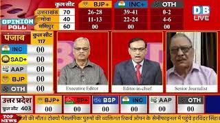 Goa-Manipur में लौटेगी Congress | goa assembly election opinion poll 2022 | manipur news | #DBLIVE