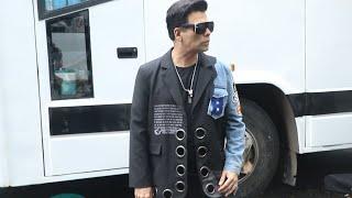 Karan Johar Spotted Outside Bigg Boss OTT House, Sunday Ka Vaar