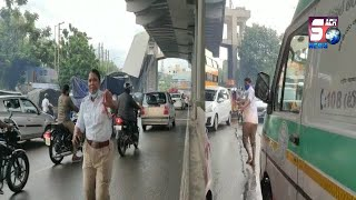 Great Work Done By Hyderabad Police At Malakpet Road   Chaderghat Hyderabad   SACH NEWS  