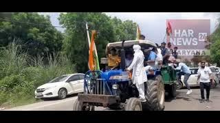 ओलंपिक कांस्य पदक विजेता बजरंग पुनिया का अपने गांव पहुंचने पर हुआ जोरदार स्वागत देखें